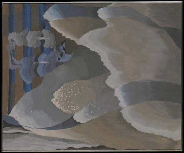 Central America Painting - Reaching Waves by Arthur Dove