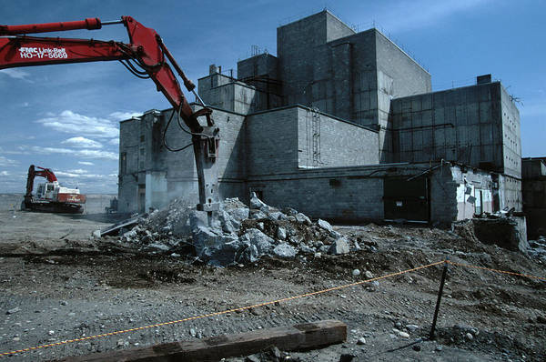Deconstruction Photograph - Reactor Cleanup, Usa by Peter Essick