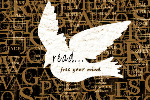 Mixed Media - Read Free Your Mind Camel by Angelina Tamez