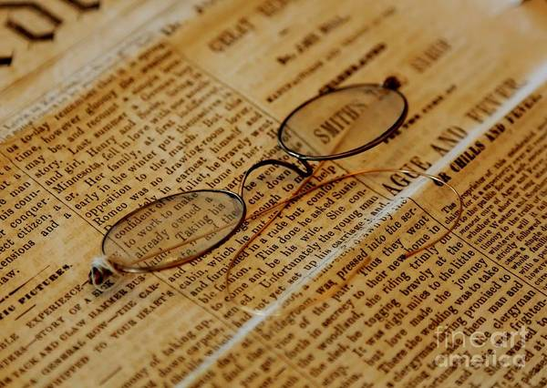 Photograph - Reading Glasses by Carol Groenen