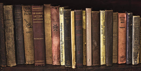 Photograph - Reading Material by Heather Applegate