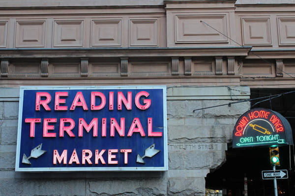 Terminal Photograph - Reading Terminal Market by David Rucker