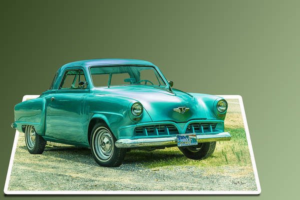 Photograph - Classic - Car - Studebaker - Ready For A Spin? by Barry Jones