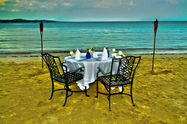 Photograph - Ready For Dinner At Water's Edge In Jamaica by Gary Slawsky