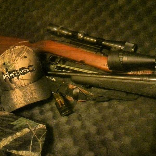 Rifles Photograph - Ready For My First Hunt Of The Season! by Aaron Justice