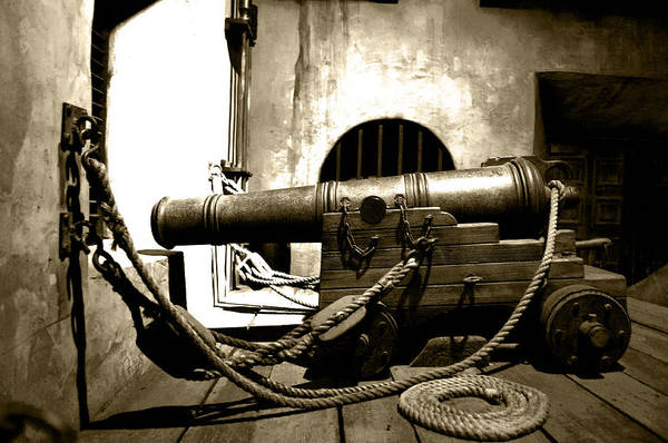 Wall Art - Photograph - Ready The Canons by Ryan Crane