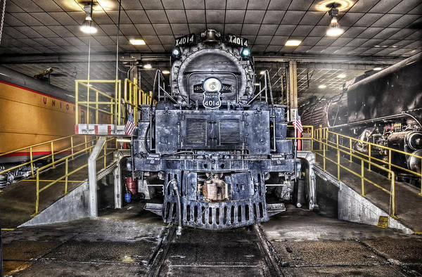 Roundhouse Photograph - Ready To Begin My Restoration by Ken Smith