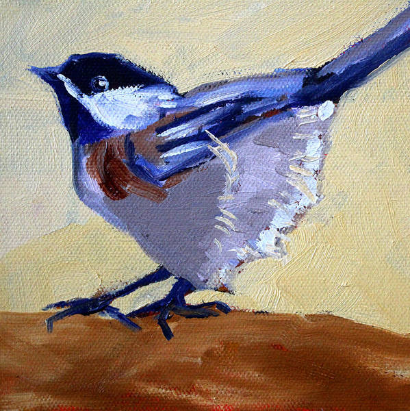 Wall Art - Painting - Ready To Fly by Nancy Merkle