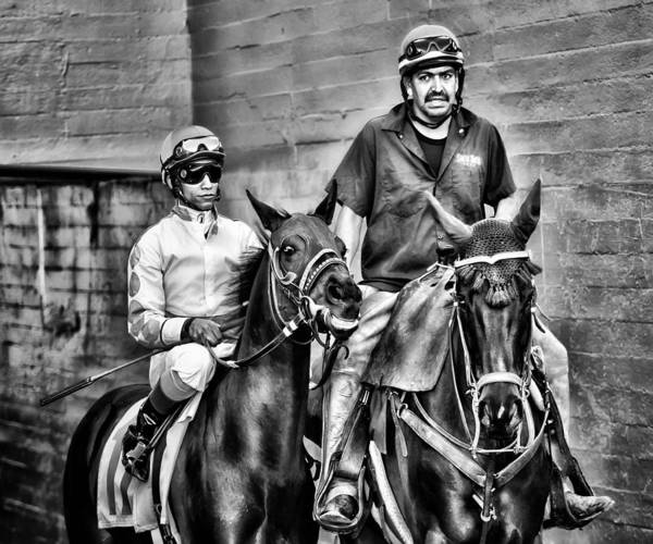 Jocky Photograph - Ready To Race by Camille Lopez