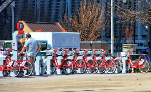 Bicycle Rack Photograph - Ready To Ride by Dan Sproul