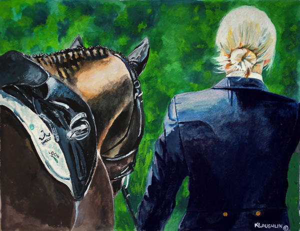 Painting - Ready To Ride by Kathy Laughlin