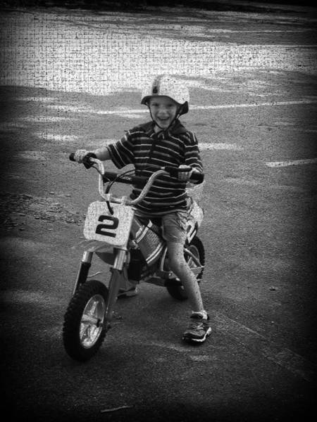 Dirtbike Photograph - Ready To Ride by Kelly Hazel