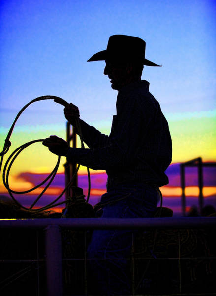 Roping Photograph - Ready To Rope I by Toni Hopper