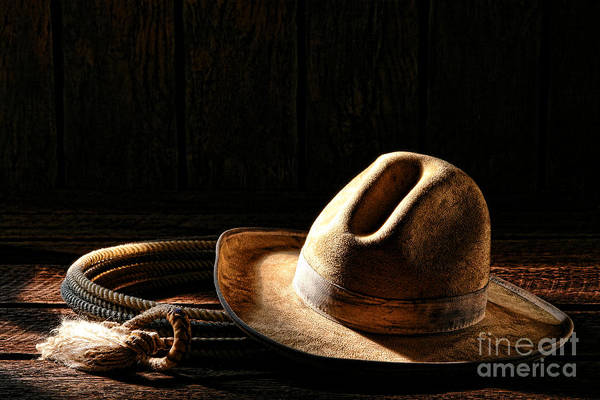 Roping Photograph - Ready To Work by Olivier Le Queinec