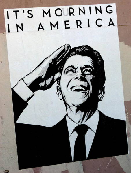 Photograph - Reagan Mourning Poster by Jeff Lowe