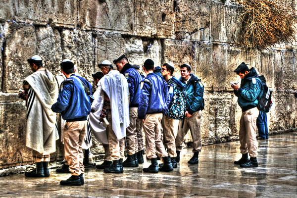 Photograph - Homeland Security In Israel by Doc Braham