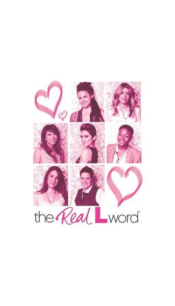 Reality Digital Art - Real L Word - Hearts by Brand A