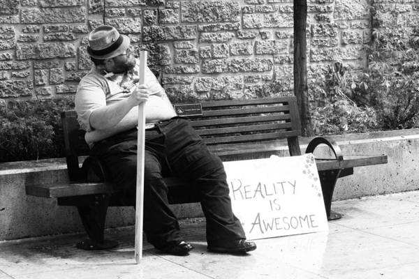 Pride Festival Photograph - Reality Is Awesome  by The Artist Project