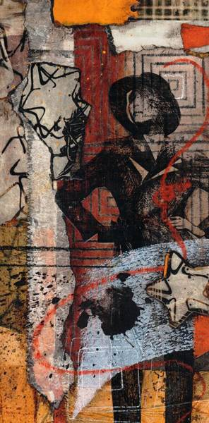Transfer Mixed Media - Really  by Laura  Lein-Svencner