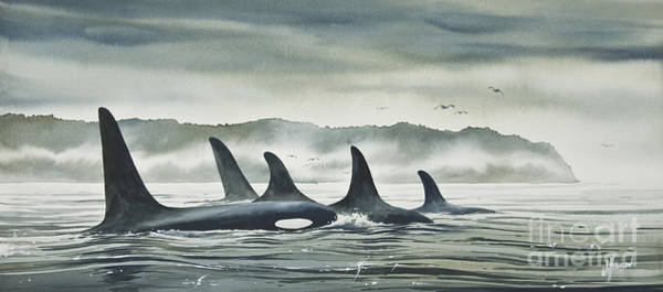 Killer Painting - Realm Of The Orca by James Williamson