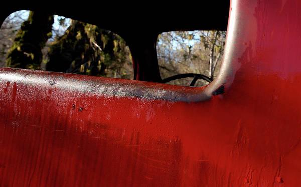 Rear View - Vintage Dodge Truck Art Print