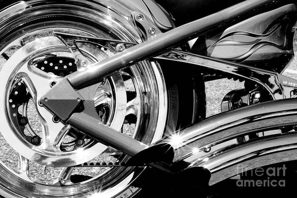 Photograph - Rear Wheel by Paul W Faust -  Impressions of Light
