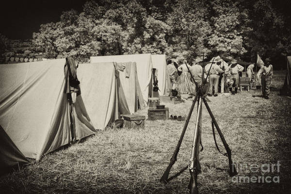 Rebel Encampment Art Print