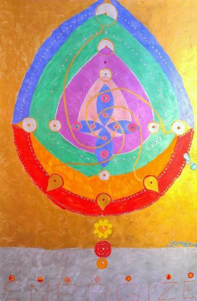 Priceless Painting - Rebirth Mandala by Mauro Zaraj