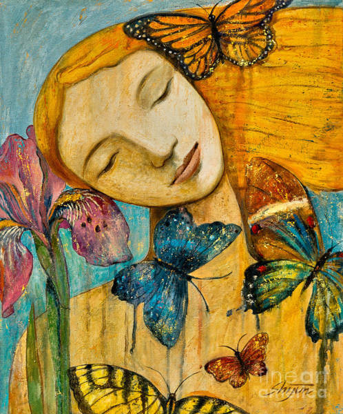 Painting - Rebirth by Shijun Munns