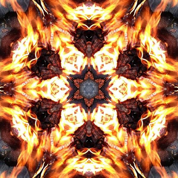 Photograph - Rebirth Through Fire K1 by Derek Gedney