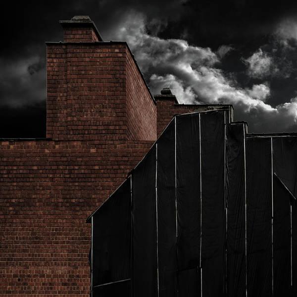 Brick Wall Art - Photograph - Rebuilding by Gilbert Claes