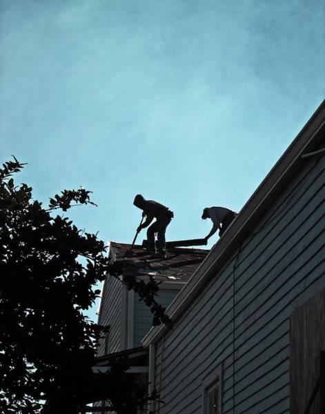 Photograph - Rebuilding New Orleans by Louis Maistros