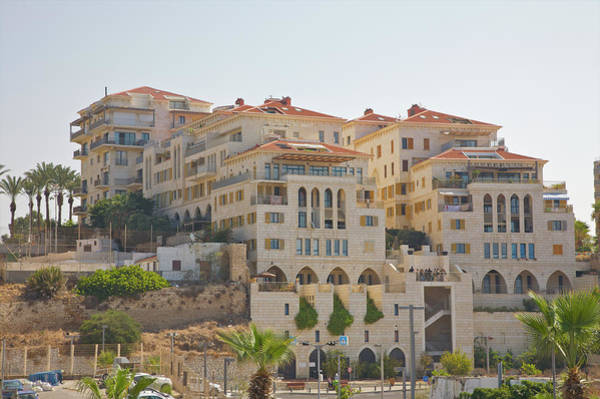 Jaffa Photograph - Recently-built Apartments On Jaffa by Barry Winiker