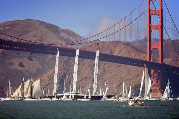 Furon Photograph - Reception At The Golden Gate by Daniel Furon