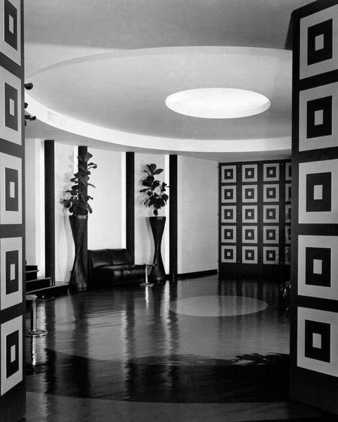 Home Accessories Photograph - Reception Hall At The Terrace Club by Peter Nyholm