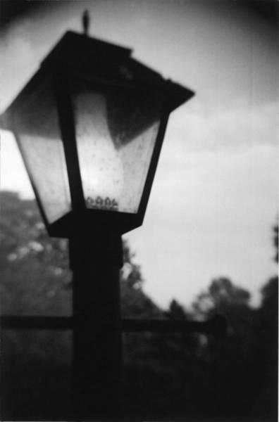 Photograph - Recesky - Lamp Mono by Richard Reeve