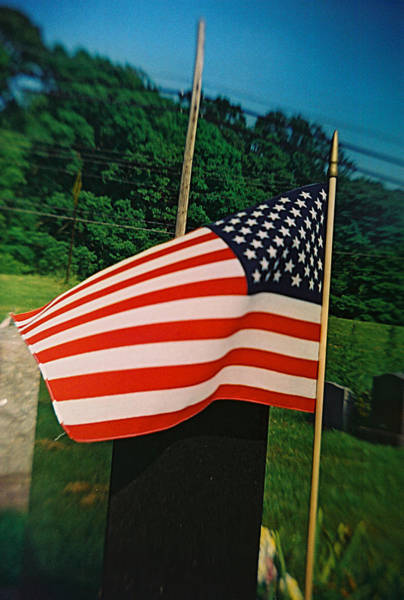 Photograph - Recesky - Old Glory by Richard Reeve