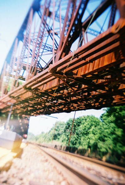 Photograph - Recesky - Whitford Railroad Bridge by Richard Reeve