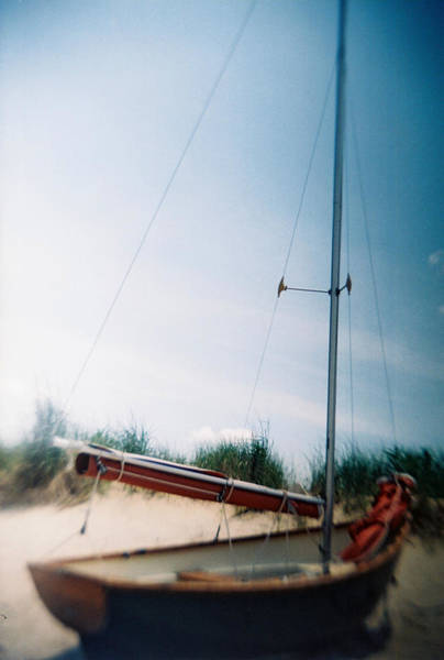 Photograph - Recesky - Cape May Sailboat by Richard Reeve