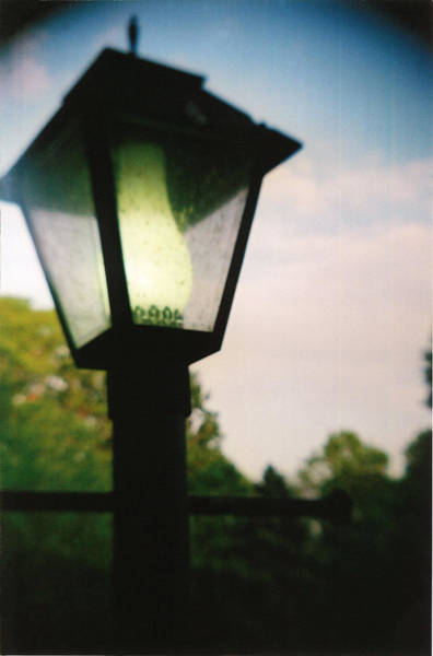 Photograph - Recesky - Lamp by Richard Reeve