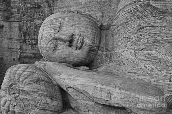 Photograph - Reclining Buddha 1 by Hitendra SINKAR