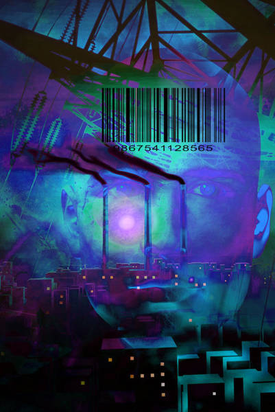 Barcode Digital Art - Recollection by Bruce Rolff