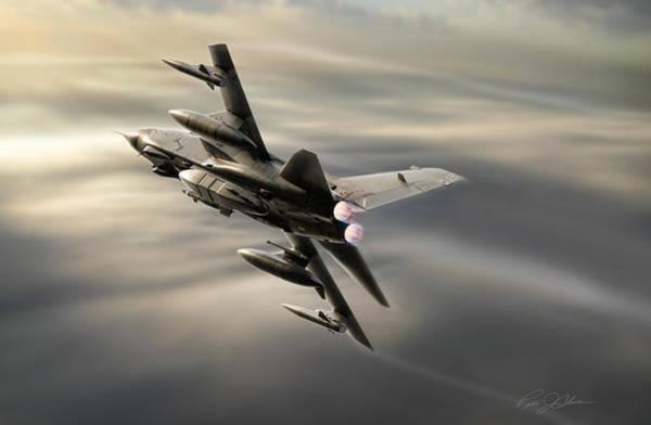 Tornado Digital Art - Recon 13 by Peter Chilelli