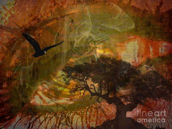 Digital Art - Recurring Dream by Jessie Art
