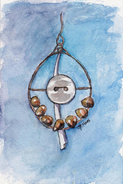 Wind Chime Painting - Recycled Art Fun by Julie Maas