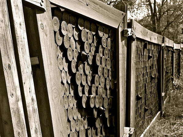 Photograph - Recycled Fence by Kim Pippinger