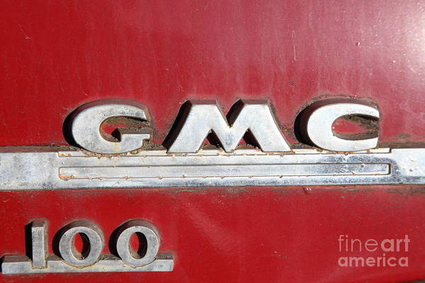 Photograph - Red 1954 Gmc 100 Truck 5d26453 by Wingsdomain Art and Photography