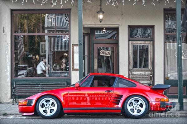 Photograph - Red 1982 Porsche In Jamestown by RicardMN Photography