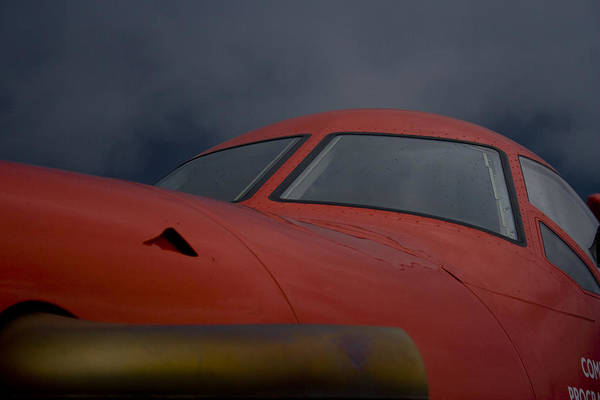Kimberley Airport Photograph - Red And Blue  by Paul Job