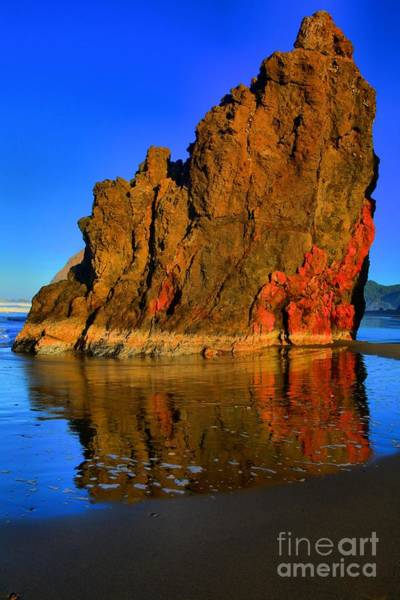 Photograph - Red And Gold In The Sea by Adam Jewell